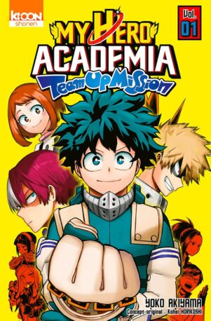 My hero academia - Team up mission T.01 | 9791032707081