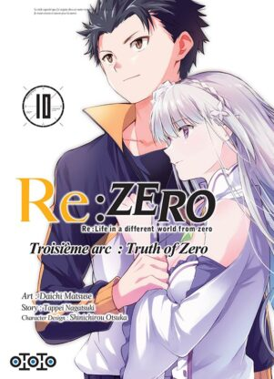 Re: Zero - Arc 3: Truth of Zero T.10 | 9782377172917