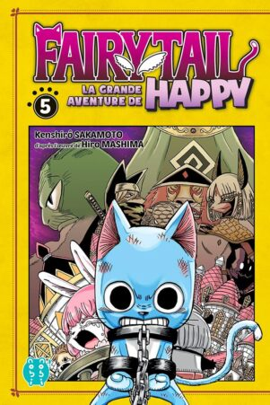 Grande Aventure de Happy (La) - Fairy tail T.05 | 9782373494631