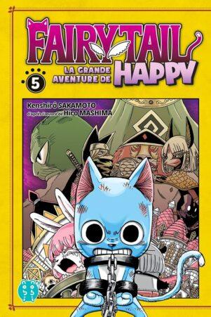 Grande Aventure de Happy (La) - Fairy tail T.05 | 9782373494631