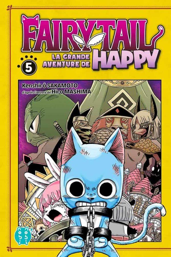 Grande Aventure de Happy (La) - Fairy tail T.05   9782373494631