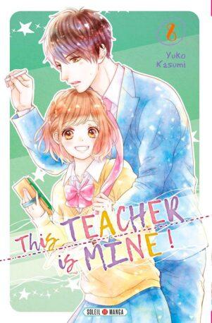 This teacher is mine  T.08 | 9782302082366
