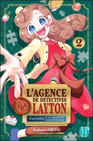 Agence de detectives Layton (L') - Katrielle et les mysterieuses enquetes T.02 | 9782373494860