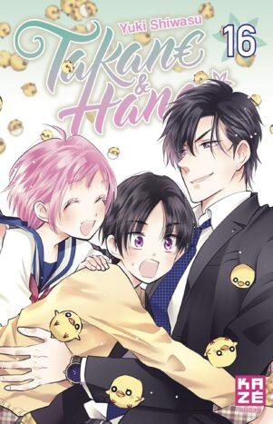 Takane et Hana T.16 | 9782820338327