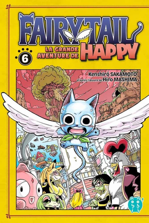 Grande Aventure de Happy (La) - Fairy tail T.06 | 9782373494891
