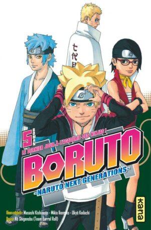 Boruto - Roman T.05 | 9782505084709