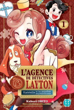 Agence de detectives Layton (L') - Katrielle et les mysterieuses enquetes T.01 | 9782373494778