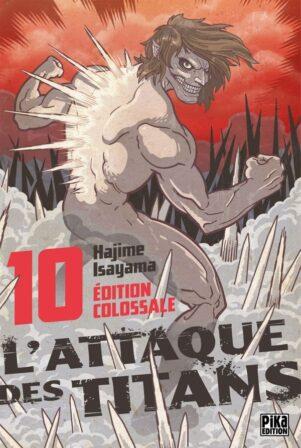 Attaque des Titans (L') - Ed. Colossale T.10 | 9782811657369