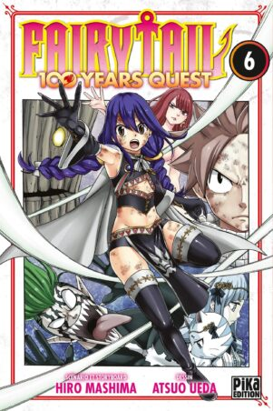 Fairy tail - 100 years quest  T.06 | 9782811658335
