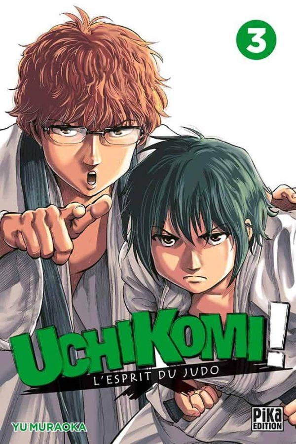 Uchikomi l'esprit du judo T.03   9782811648251