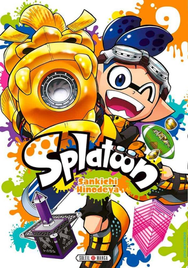 Splatoon T.09 | 9782302083615