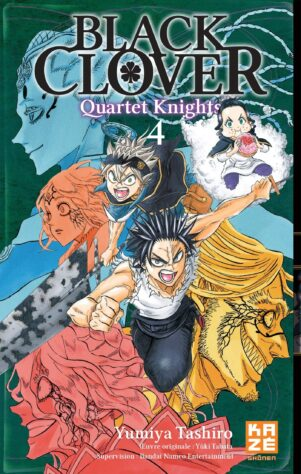 Black Clover - Quartet Knights T.04 | 9782820340177