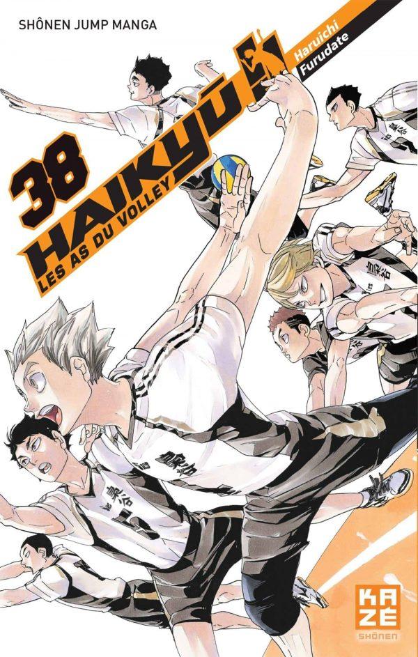 Haikyu !! Les As du Volley T.38 | 9782820338426