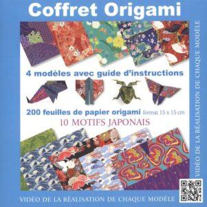 Coffret origami - 10 motifs japonais | 9782889355259