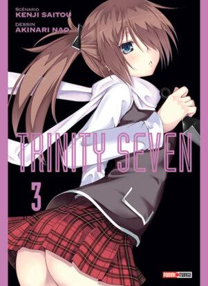 Trinity Seven T.03 | 9782809486803