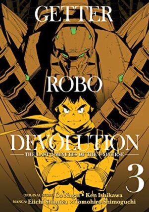 Getter Robo Devolution (EN) T.03 | 9781642750096