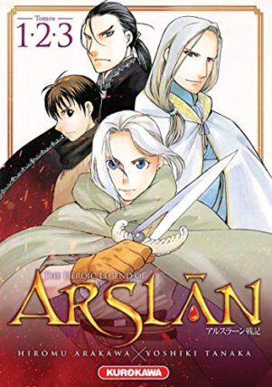 Heroic legend of Arslan (The) - coffret 1-2-3 | 9782368528990