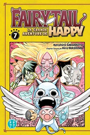 Grande Aventure de Happy (La) - Fairy tail T.07 | 9782373495096