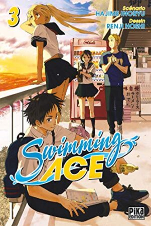 Swimming Ace T.03 | 9782811650025