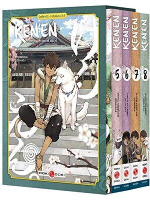 Ken'en - coffret T.05 a 08 | 9782818979952