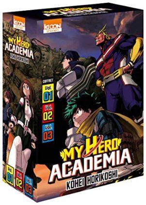 My hero academia - coffret 1-2-3 | 9791032707302