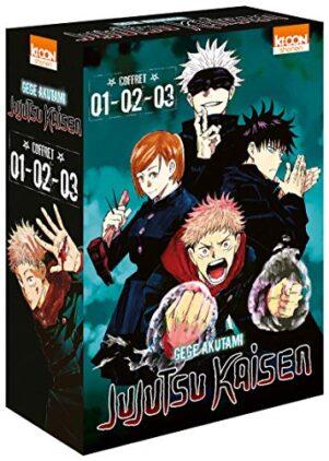 Jujutsu Kaisen - coffret 1-2-3 | 9791032707326