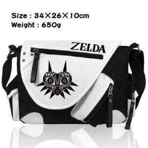 Sac bandouliere Zelda Deluxe noir & blanc | otkgd_sac_bandouliere_zelda_deluxe_noir___blanc_a227365