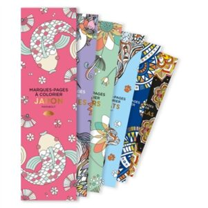 Marques-pages a colorier - Japon   9782501137034