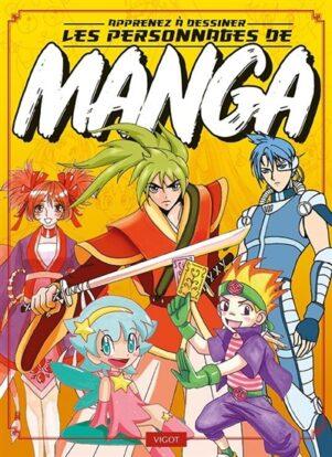 Apprenez a dessiner les personnages de manga | 9782711425433