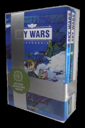 Sky Wars - Noel Coffret 3 mangas | sky_wars_-_noel_coffret_3_mangas