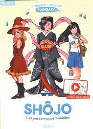 Je dessine comme un mangaka - Shojo, les personnages feminins | 9782215169598