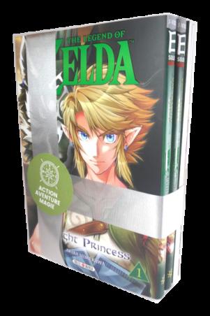 Zelda - Noel Coffret 3 mangas | zelda_-_noel_coffret_3_mangas