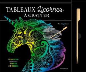 Tableaux licornes a gratter   9782295011572