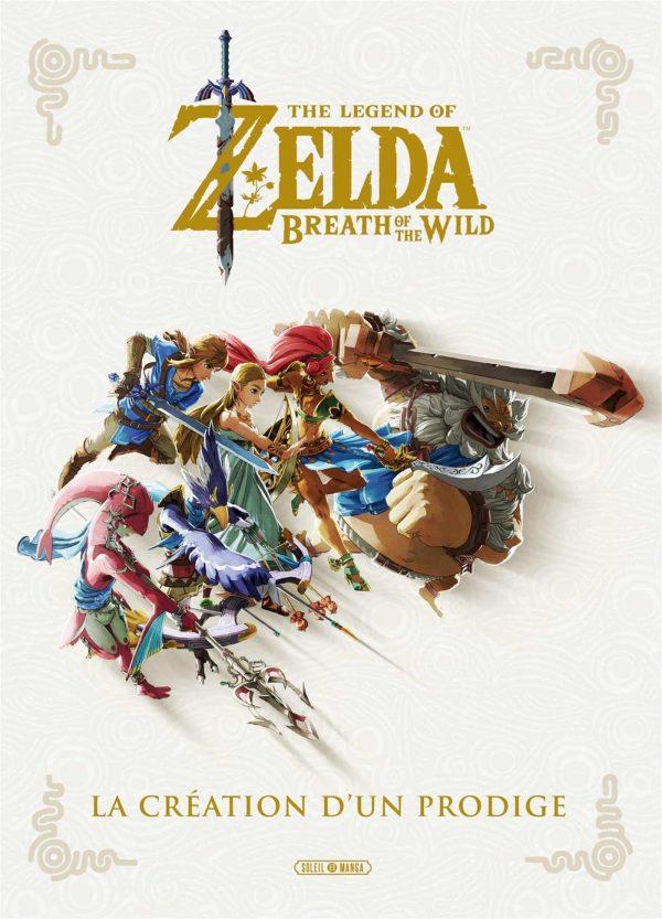 Zelda - Breath of the wild   9782302083622