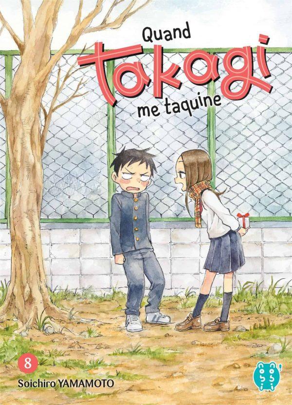 Quand Takagi me taquine T.08 | 9782373494822