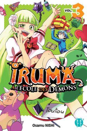 Iruma a l'ecole des demons T.03   9782373495003