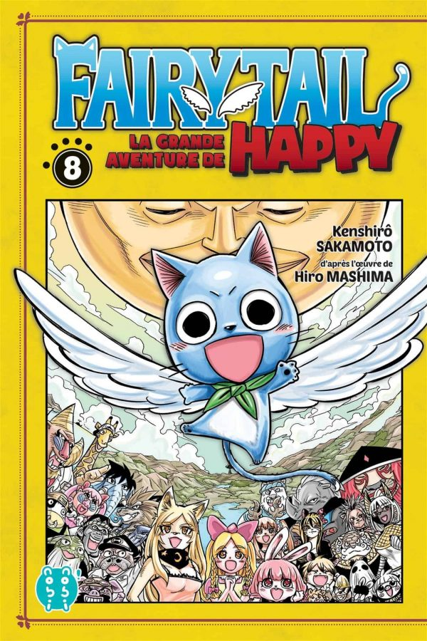 Grande Aventure de Happy (La) - Fairy tail T.08 | 9782373495188