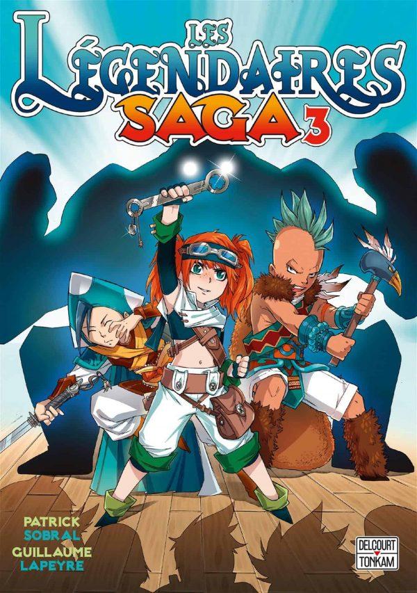 Legendaires - Saga (Les) T.03 | 9782413016656