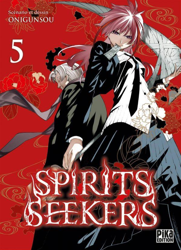 Spirits seekers T.05   9782811657840