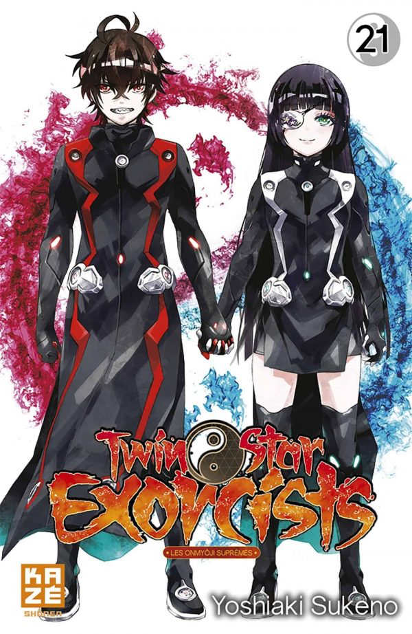 Twin Star Exorcist T.21 | 9782820338709