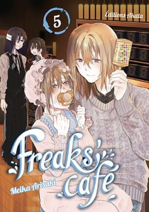 Freaks' Cafe T.05 | 9782369748601