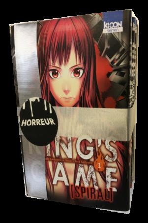 King's Game Spiral - Noel coffret 4 mangas   kings_game_spiral_-_noel_coffret_4_mangas