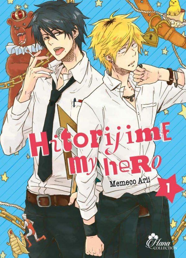 Hitorijime my hero T.01   9782368777695