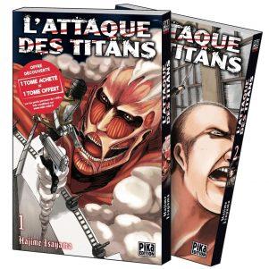 Attaque des titans (L') - stater pack N.E. | 9782811663001