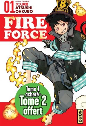 Fire force - Starter pack 1-2 N.E. | 3701167164952