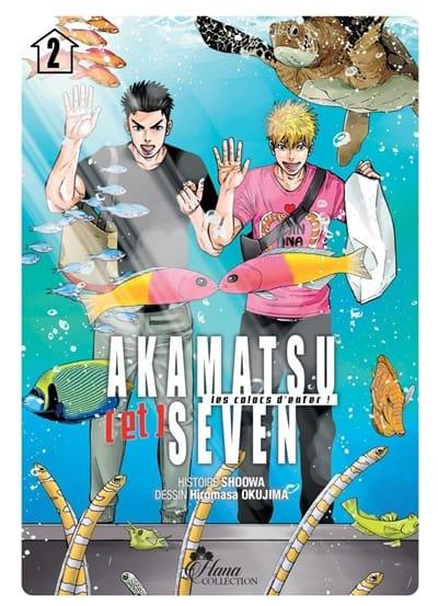Akamatsu et Seven T.02   9782368777565