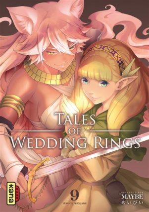 Tales of Wedding Rings T.09 | 9782505084280