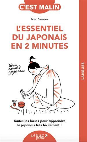 Essentiel du Japonais en 2 minutes (L') | 9791028520311