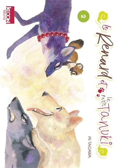 Renard et le petit tanuki (Le) T.02 | 9791032707678