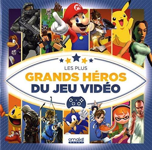 Plus grands heros du jeu video (Les) | 9782919603619